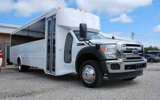 22 Passenger party bus rental Boca Raton