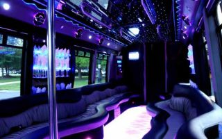 22 people Boca Raton party bus