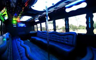 40 people party bus Hollywood