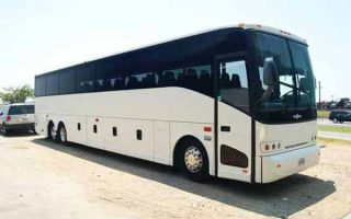 50 passenger charter bus Plantation