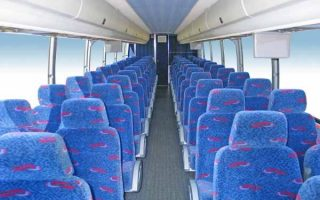 50 people charter bus Plantation