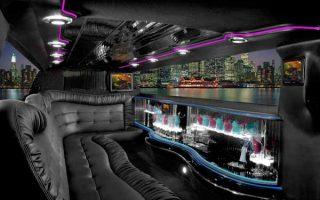 Chrysler 300 Hollywood limo interior