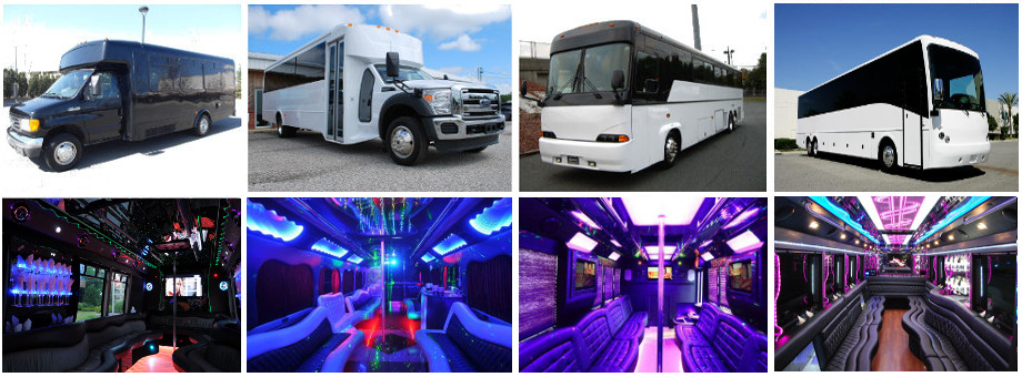 Prom party bus rental near ft lauderdale