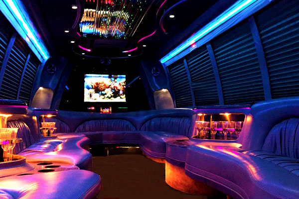 fort lauderdale party 18 person party bus