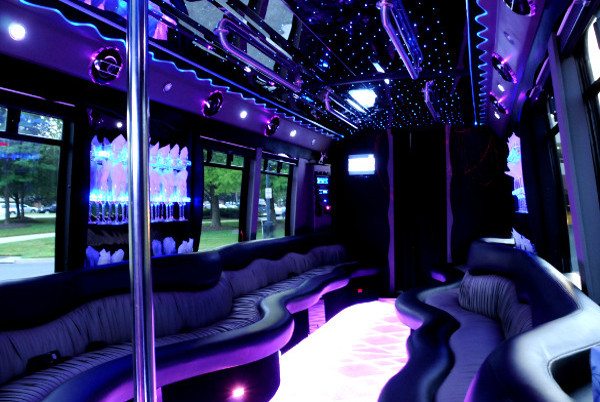 fort lauderdale party 22 person party bus