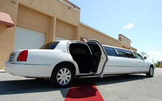 lincoln stretch limousine Coral Gables