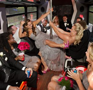 wedding party bus fort lauderdale fl