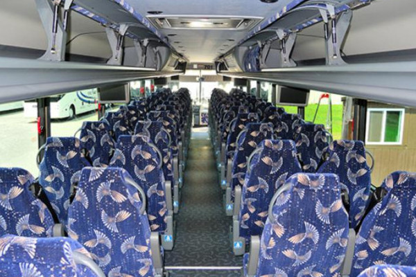 40 Person Charter Bus Hollywood