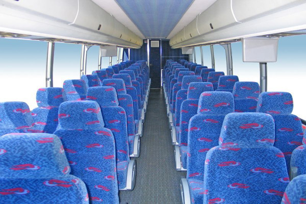 50 Person Charter Bus Rental Hollywood